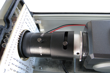 车牌识别摄像机镜头拆机图片1